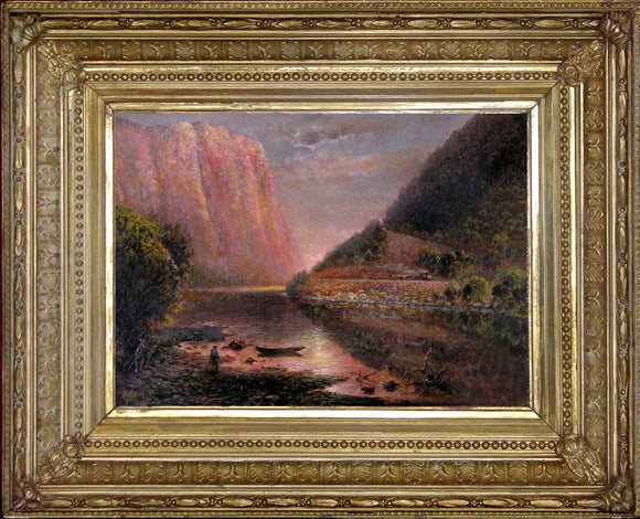 Granville Perkins (American, 1830-1895) Delaware Water Gap Oil on canvas