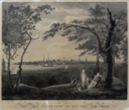 SEYMOUR, Samuel (active 1797-1823), after BIRCH, William (1755-1834). The City of New York in the State of New York, North America.