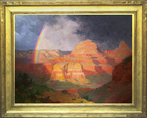 "Edward Henry Potthast (1857-1927) The Grand Canyon Oil on canvas: 30"" x 40"" Signed l.r.: E. Potthast"