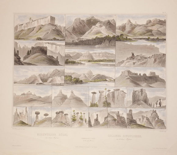 Karl Bodmer (1809-1893), Remarkable Hills