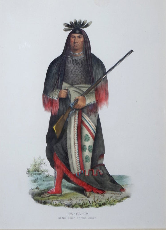 Sioux Grand Chief, Wa-Na-Ta