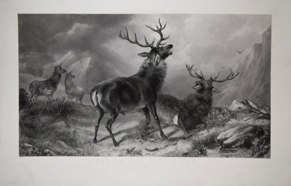 Sir Edwin Henry Landseer (1802-1873) and Thomas Landseer (1795-1880),  Victor of the Glen