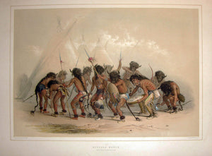 catlin-george-1796-1872-plate-no-08-buffalo-dance