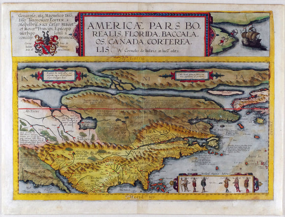 de-jode-cornelis-1568-1600-americae-pars-borealis-florida-baccalaos-canada-corterealis-antwerp-arnold-coninx-for-the-widow-and-heirs-of-gerard-de-jode-1593