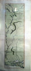 Course of the Mississipi from the Balise to Fort Chartres; taken on an Expedition to the Illinois in the latter end of the year, 1765. London: Printed for Robert Sayer, no. 53 in Fleet Street, 1 June 1772