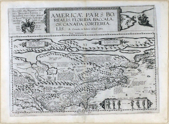 de-jode-gerard-1509-91-cornelis-de-jode-1568-1600-americae-pars-borealis-florida-baccalaos-canada-corterealis-antwerp-arnold-coninx-for-the-widow-and-heirs-of-gerard-de-jode-1593