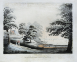JUKES, Francis (1745-1812, after ROBERTSON, Alexander (1772-1841). New York from Hobuck Ferry House & New Jersey.