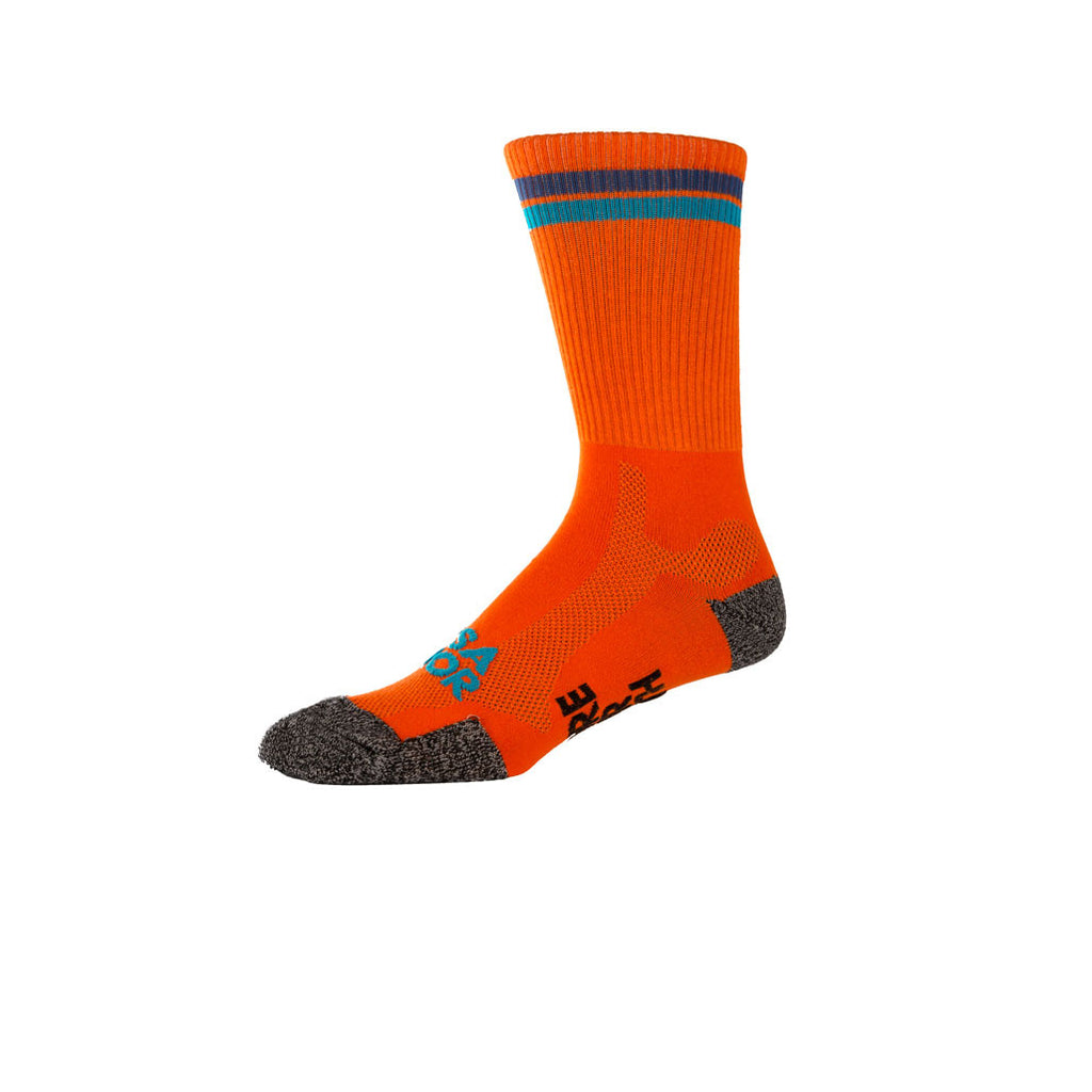 Hi-Vis Oso Orange/Blue - Cycling Sock