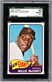 1965 Topps #176 Willie McCovey Giants SGC 92 NM-MT+ 8.5