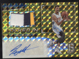 2016-17 Panini Spectra Jamal Murray Locked In Gold 3 Color Patch RC Auto /10