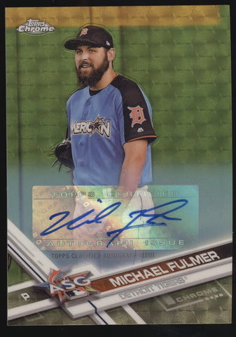 2017 Topps Chrome Michael Fulmer Gold Superfractor RC Auto Autograph True 1/1