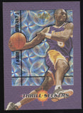 1997-98 Fleer Thrill Seekers #2 Kobe Bryant Lakers Insert