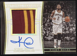 2015-16 National Treasures Kyrie Irving Night Moves Patch Auto Autograph /10
