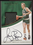 2016-17 Panini Immaculate Larry Bird Sneaker Swatches Auto Autograph /25
