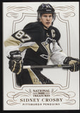 2013-14 Panini National Treasures Sidney Crosby Base Card 114/199