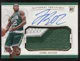 2015-16 National Treasures Terry Rozier 2 Color Patch RC Auto Autograph /99