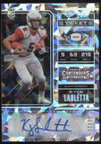 2018 Panini Contenders Kyle Lauletta College Ticket Cracked ice RC Auto /23