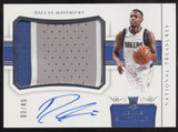 2017-18 National Treasures Dennis Smith Jr. Horizontal 3 Patch RC Auto /49