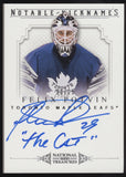 "2013-14 National Treasures Curtis Joseph ""The Cat"" Notable Nicknames Auto /25"