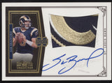 2010 National Treasures Sam Bradford Logo Patch Gold RC Auto Autograph /25