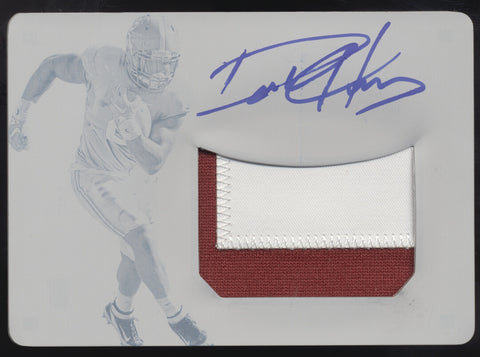 2016 National Treasures Derrick Henry Printing Plate Patch RC Auto True 1/1