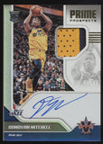 2017-18 Panini Vanguard Donovan Mitchell 2 Color Patch RC Auto /99
