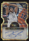 2015-16 Panini Select Karl-Anthony Towns Gold Wave RC Auto Autograph /10