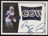 2010 National Treasures Dez Bryant Cowboys RPA Logo Patch RC Auto /99