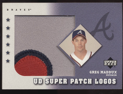 2003 Upper Deck UD Greg Maddux Super Patch Logos Patch READ