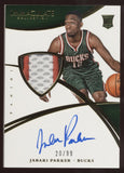 2014-15 Panini Immaculate Jabari Parker 3 Color Patch RC Auto Autograph /99