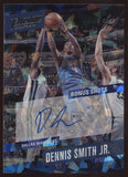 2017-18 Panini Prestige Dennis Smith Jr. Cracked Bonus Shots RC Auto True 1/1