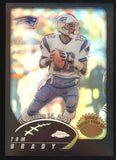 2002 Topps Chrome #150 Tom Brady Black Refractor 2nd Year /599