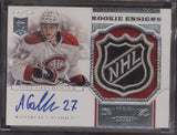 2013-14 Panini Dominion Alexander Galchenyuk Ensigns Shield Patch RC Auto 1/1