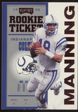1998 Playoff Contenders Peyton Manning Red Rookie Ticket RC Rookie READ