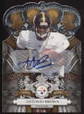 2010 Panini Crown Royale Antonio Brown Die-Cut RC Auto Autograph /249