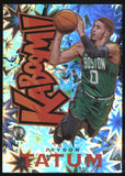 2018-19 Panini Crown Royale #14 Jayson Tatum Celtics Kaboom SP