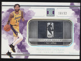 2018-19 Panini Impeccable Brandon Ingram NBA Logo 1 Troy Ounce Fine Silver /22