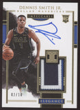 2017-18 Panini Impeccable Dennis Smith Jr. Elegance Patch Gold RC Auto /10