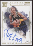 2018-19 Panini Impeccable Reggie Miller Illustrious Ink Auto Autograph /5