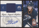 2011-12 Panini Elite Materials Ryan Nugent-Hopkins Jersey RC Auto /25