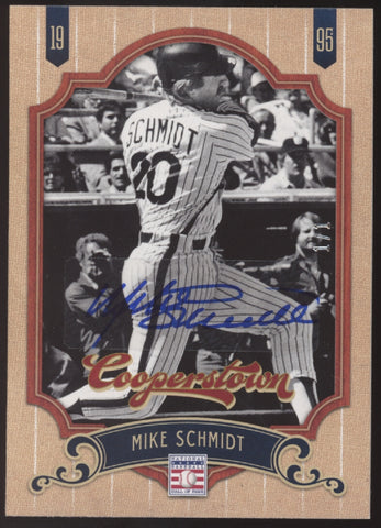 2012 Panini Cooperstown Signatures Mike Schmidt Auto True 1/1