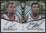 2017-18 Panini Totally Certified Donovan Mitchell Dennis Smith Jr. RC Auto /25