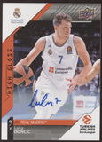 2017-18 UD Turkish Airlines Euroleague Luka Doncic High Gloss RC Auto