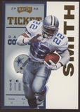 1998 Playoff Contenders #22 Emmitt Smith Cowboys Gold /25