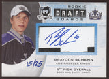 2010-11 UD The Cup Brayden Schenn Rookie Draft Boards RC Auto /25