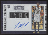 2019-20 Panini Contenders DP Ja Morant College Ticket Cracked Ice RC Auto /23