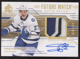 2014-15 SP Authentic Jonathan Drouin Future Watch 3 Color Patch RC Auto /100