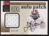 2011 SP Authentic Julio Jones Jersey Patch RC Rookie Auto Autograph /299