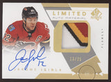 2018-19 SP Authentic Jarome Iginla 19-20 Update Limited 4 Color Patch Auto /25