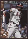 2020 Topps Series One 1 Ronald Acuna Jr. Memorial Day Camo /25